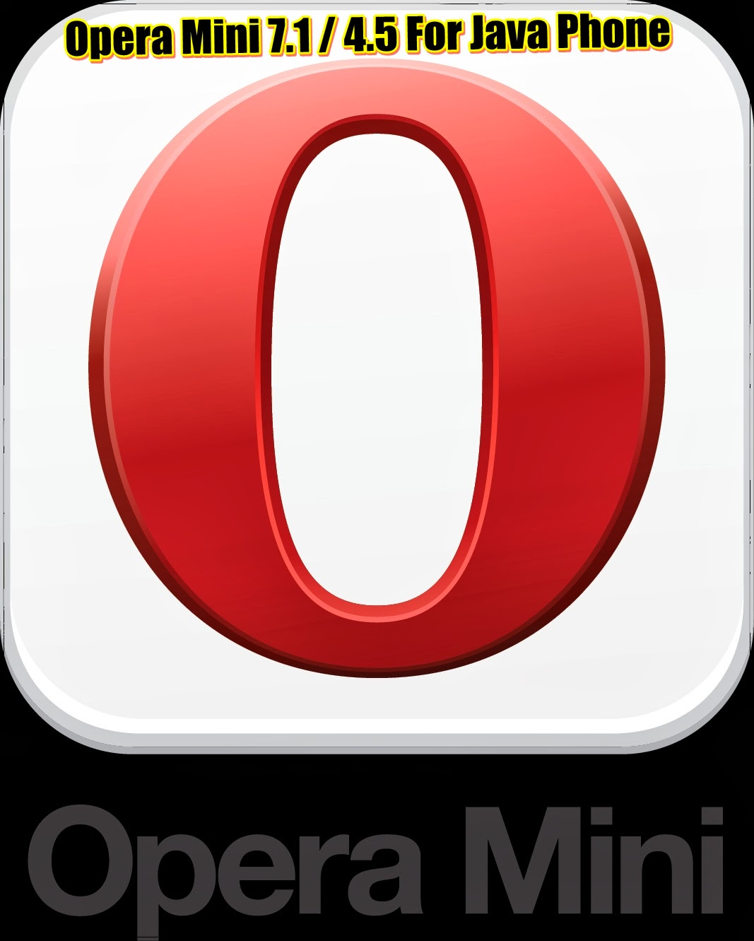 Upgrade to the newest opera mini on java and basic phones opera.
