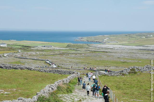 Sun Aengus Inishmore Islas Aran Irlanda