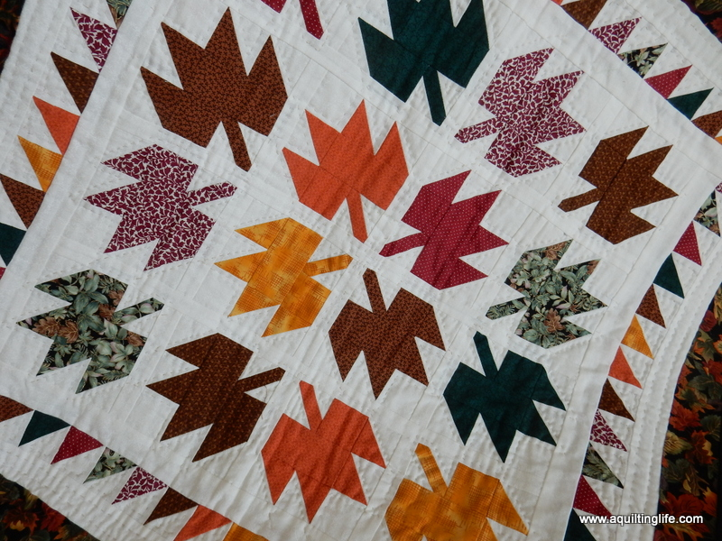 Fall Quilts and Decor | A Quilting Life - a quilt blog : fall quilt - Adamdwight.com