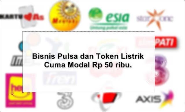 Bisnis Pulsa dan Token Listrik
