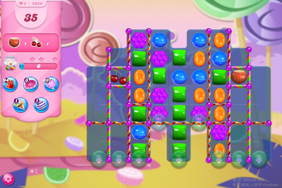 Candy Crush Saga level 4089