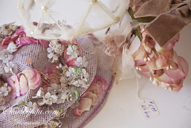 vintage pink church hats
