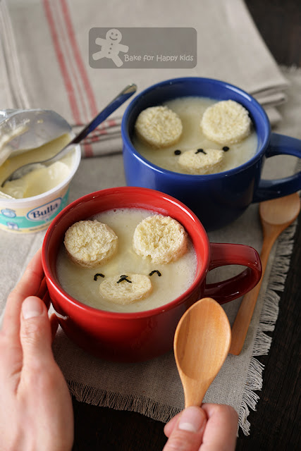 cute cauliflower soup