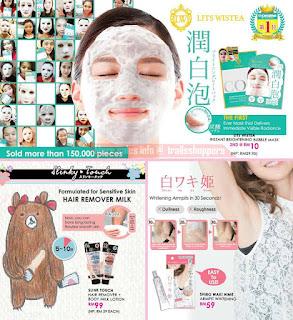SaSa Malaysia Sale whitening armpit