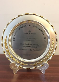Dr. Oetker India honoured with 'Best Food Machinery/Equipment Award' by ASSOCHAM