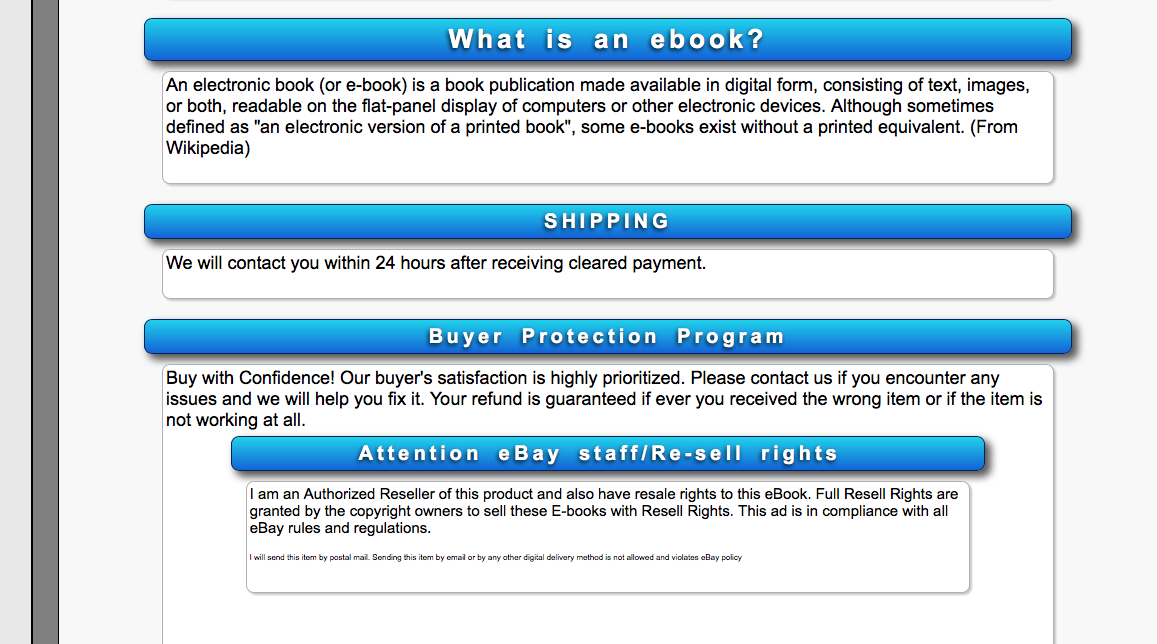 Book Review Diary Time For An Riaa For Book Publishers To Deal With Ebay Bootlegging