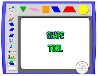 Monsters in the Classroom - Shape Tool