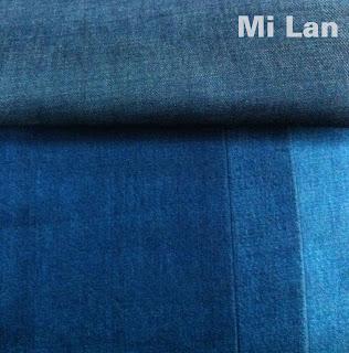 Vải jean cotton 100% bé trai K68