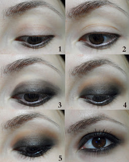 smokey eyes, grunge, black, brown smokey grunge gothic pastel