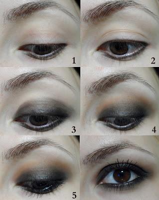 smokey eyes, grunge, black, brown smokey grunge gothic pastel