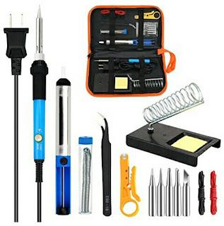 Deliy Soldering Iron Kit - 60Watts Electronic Tool Set