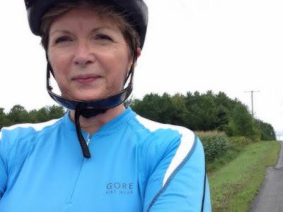 Biking near North Gower