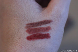 Review: CATRICE Blessing Browns - lecker schokoladig! - Matt Lip Liner - www.annitschkasblog.de