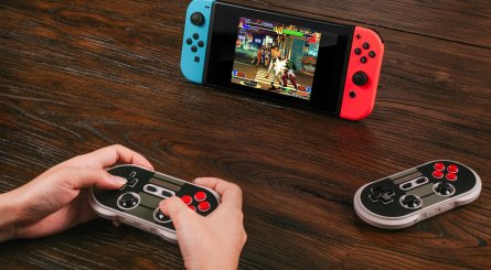 Los mandos de 8Bitdo ya son compatibles con Nintendo Switch