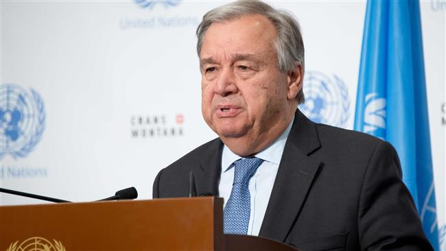 UN Secretary General Antonio Guterres warns over military intervention in Venezuela