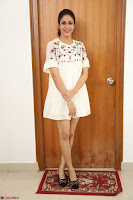 Lavanya Tripathi in Summer Style Spicy Short White Dress at her Interview  Exclusive 271.JPG