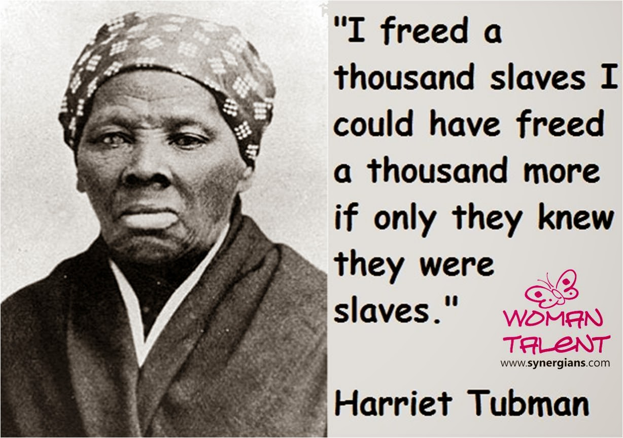 Education For Solidarity Harriet Tubman