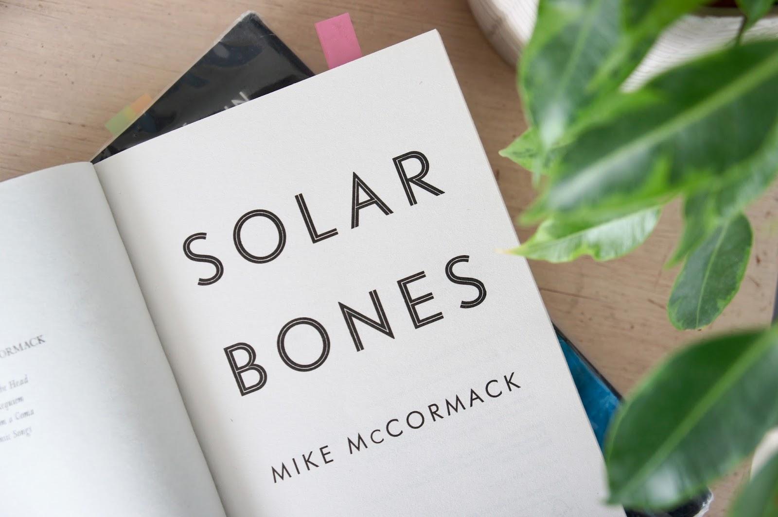 solar bones february tbr book blog