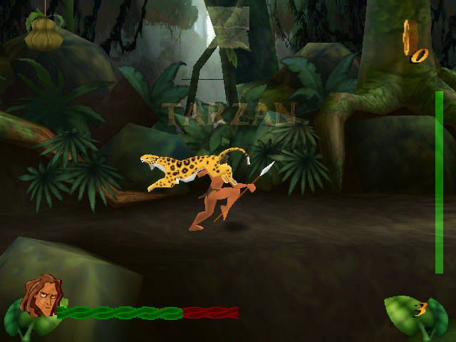 لعبة, طرزان, في الغابة, مع القرود, العاب, وهو صغير, تحميل, بنات, الكبير, ديزني طرزان, طرزان 1,