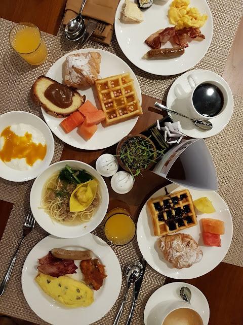 Breakfast at Movenpick Jimbaran-Bali