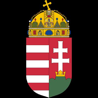Coat of arms - Flags - Emblem - Logo Gambar Lambang, Simbol, Bendera Negara Hongaria