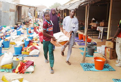 Village heads suspended for diverting IDPs food in Yobe