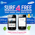 Grab a Samsung Galaxy Y or Y Duos and get a FREE Globe SIM and 4 months of mobile internet!