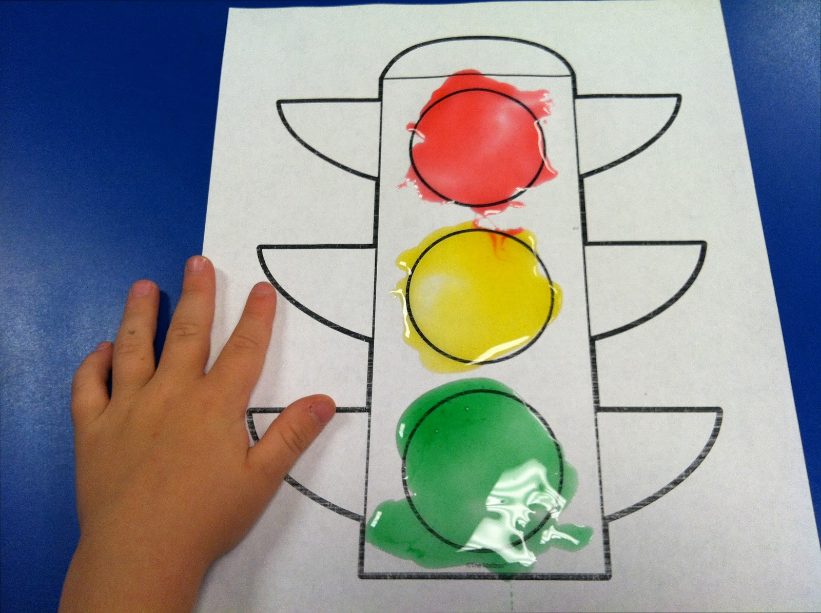 Fun Snacks 4 Kids Edible Traffic Light Painting