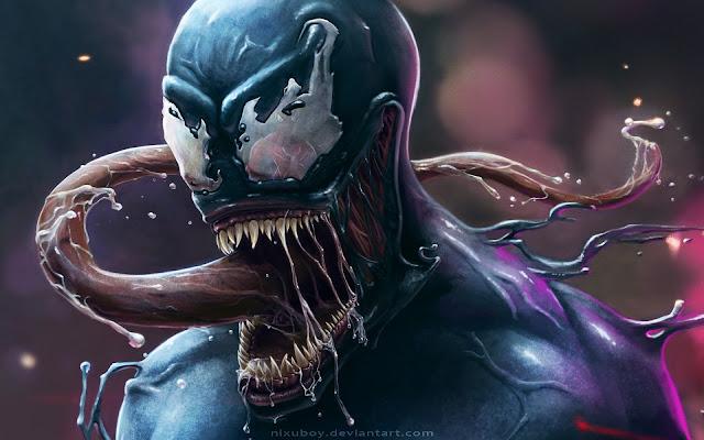 Papel de parede Venom para PC, Celular e iPhone.