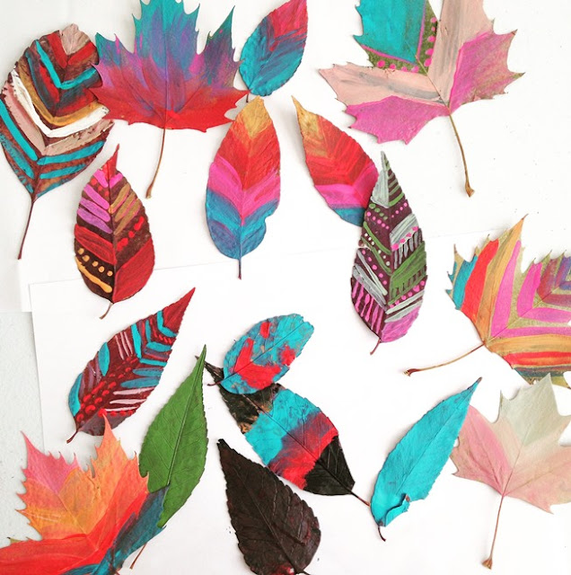 painted leaf craft: elise engh studios