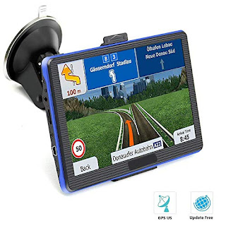 Prymax Car GPS Navigator with Smart Touch Screen