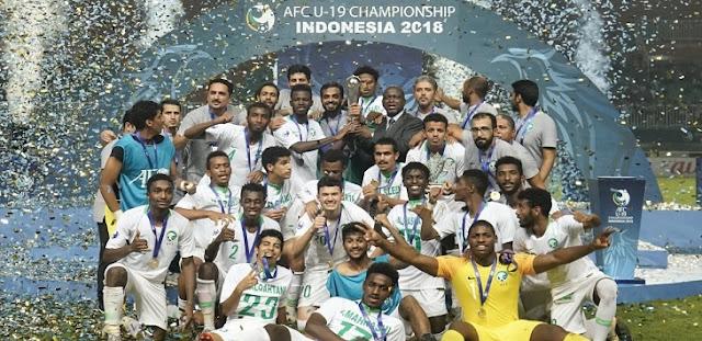 Setelah 26 Tahun, Arab Saudi Akhirnya Bisa Juara Piala Asia U-19