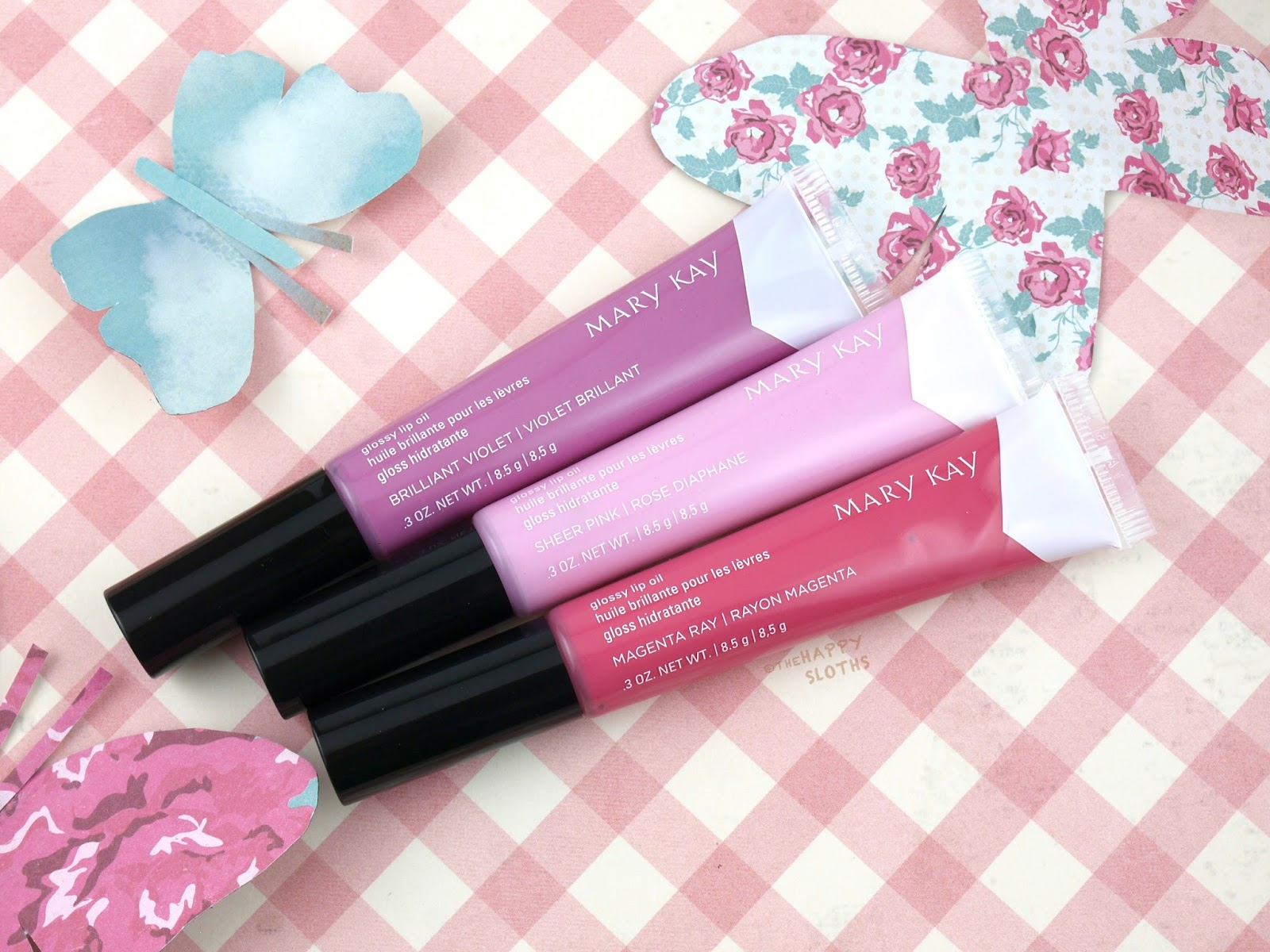 Mary Kay Spring 2017 Light, Reinvented Collection Glossy Lip Oil: Review and Swatches