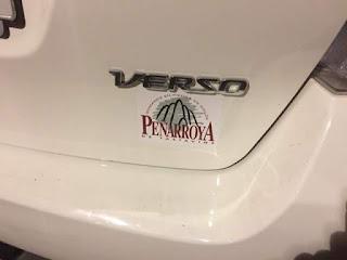 Toyota , verso , Peñarroya de Tastavins , Rubén Lombarte