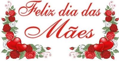 Dia das Mães e Ramos de Rosas