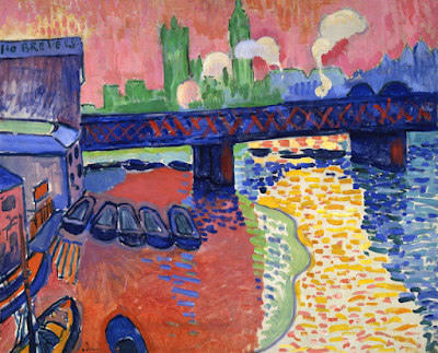 Andre Derain - Charing Cross Bridge London,1906