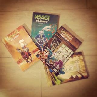Usagi Yojimbo comic ronin de Stan Sakai