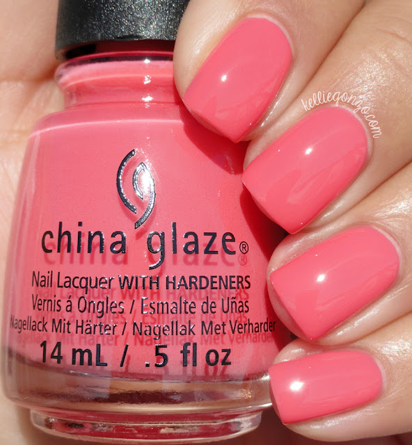 China Glaze About Layin' Out