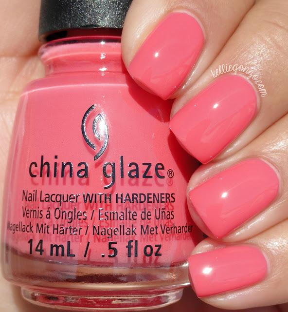 China Glaze About Layin' Out