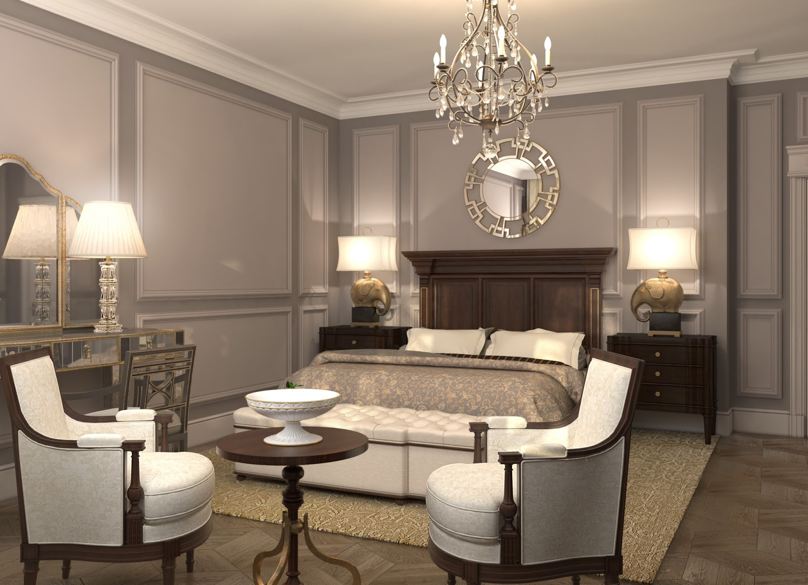Darya Girina Interior Design: Interior design of Lux ...