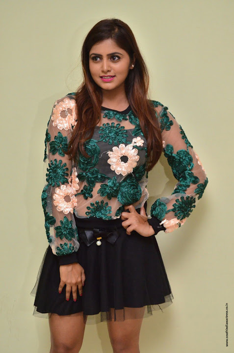 Pragya Nayan at Samaram movie press meet
