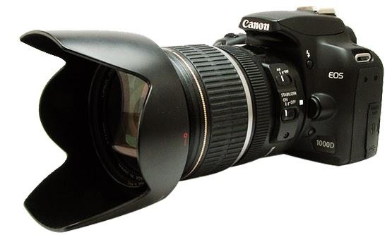 Harga dan Spesifikasi Kamera Digital SLR Canon EOS 1000D Baru