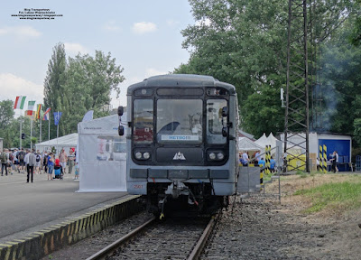 Метровагонмаш (Mietrowagonmasz) 81-714, Vítkovické metro, Vítkovice Machinery Group, Czech Raildays 2018