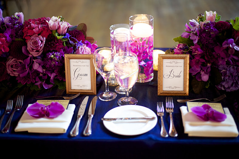 Emejing Navy Blue And Purple Wedding Images Style Ideas