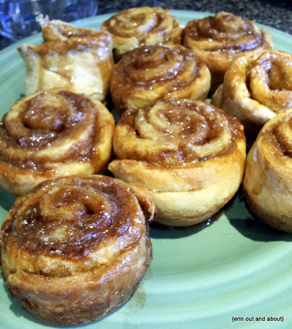 {Erin Out and About} Cinnamon Buns