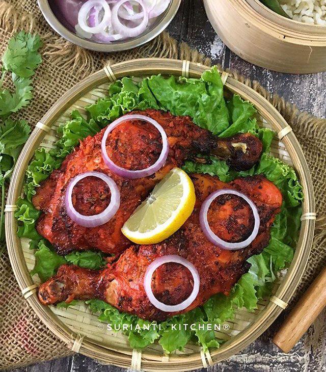 Ayam Tandoori Yang Sangat Sedap