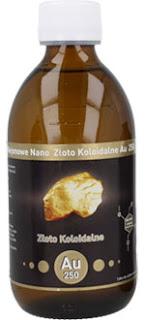 Niejonowe nano złoto koloidalne Vitacolloids