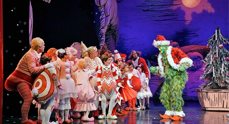 The Grinch Stole Christmas Cast.Carol S Theatre Reviews It S Fun To Go Out How The