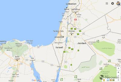 جوجل : لم نحذف اسم فلسطين من الخريطة !