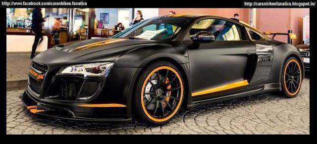 Car Amp Bike Fanatics Custom Matte Black Audi R8 With